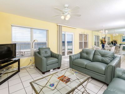 Splendors of the Emerald Coast  - This condo allows you to enjoy the amazing splendors of the Emerald Coast  to their fullest in the comforts of this two bedroom two bathroom unit