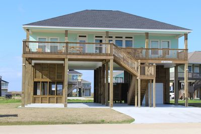 "Beautiful ""New"" Custom beach home! The ""SAND BARR"" Beach House"