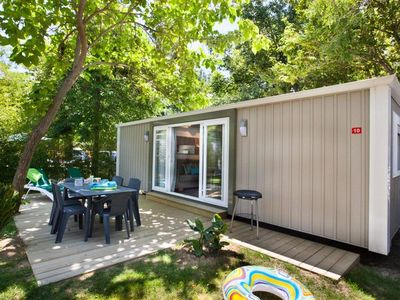 Photo for Camping L'Hippocampe ***** - Mobil Home Sirene 2 Confort Clim 3 rooms 6 people including 4 adults maximum baby included