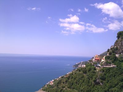 Photo for Lovely house on Amalfi coast,terrace,sea view  confort in winter