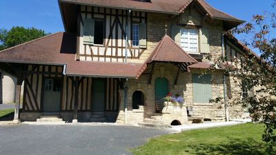Photo for Norman House in a 20-hectare park, 30 kms north-west of Paris