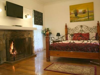 Photo for Evora Cottage with spa bath & wood fireplace