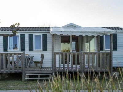 Photo for Camping La Falaise ** - Cozy Mobil Home 4 Rooms 6 People