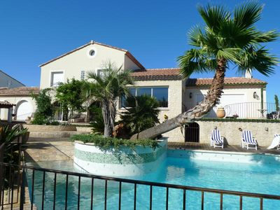 Photo for Villa with a T6 + T3 with mezzanine in Pézenas
