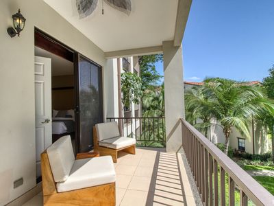 Photo for Luxury condo with balcony, amazing view, shared pool & gated entrance!