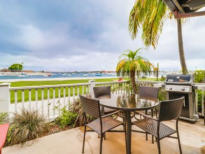 Photo for Relaxing Bayfront Home! Unmatched Panoramic Sunsets and Quiet Bay Beach