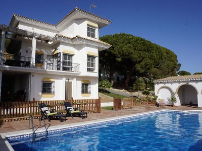 Photo for PERFECT FOR SUNSHINE TOUR-CIRCUITO DEL SOL, ANDALUSIAN VILLA WITH LARGE POOL