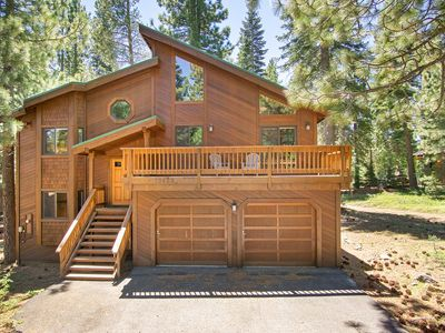 Photo for Spacious located on Tahoe Donner golf course.