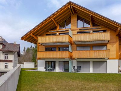 Photo for Apartment Büelbad Terrasse in Kandersteg - 4 persons, 2 bedrooms