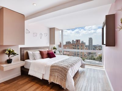 Photo for Urban Heights 303 - Trendy Studios in Exciting Chapinero Alto