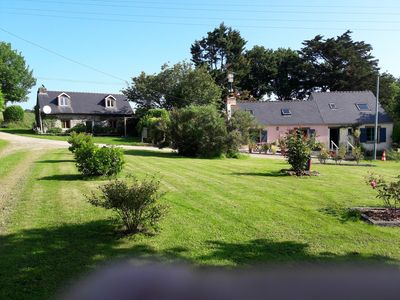 Photo for Pretty stone Cottage in beautiful rural setting,Close to the Brest Nantes Canal.