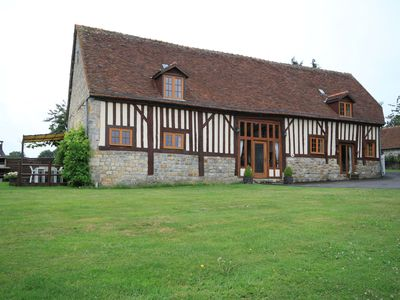 Photo for 5BR Barn Vacation Rental in Domfront En Poiraie, Normandie