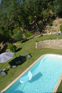 Photo for NEW Super 5 bedroom property only 1 km from lively village with private pool