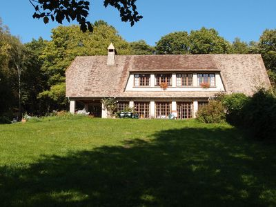 Photo for ENJOY YOUR OWN FRENCH VILLA IN THE FOREST NEAR GIVERNY