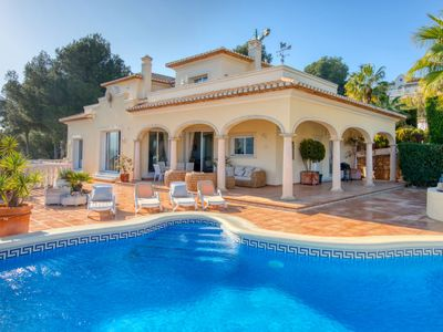 Photo for 3 bedroom Villa, sleeps 6 in Muntanya la Sella with Pool, Air Con and WiFi