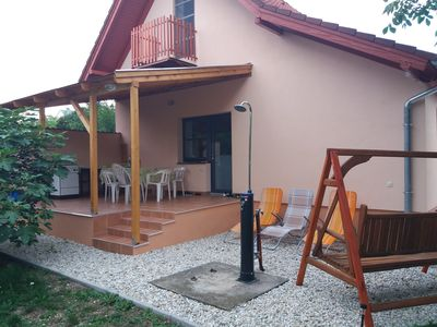 Photo for Holiday house in Balatonnähe with barbecue