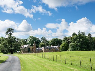 Photo for MONTEVIOT STABLES WEST - woodland trails and inspirational gardens, 4 bedroom