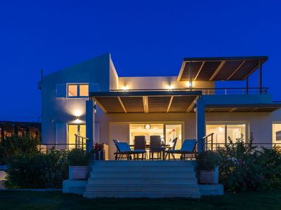 Photo for Legrena Beach Villa in Sounio (just meters away from a quiet sandy beach)