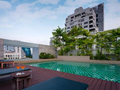 Photo for Chic Silom Soi 3 1BR near BTS stations