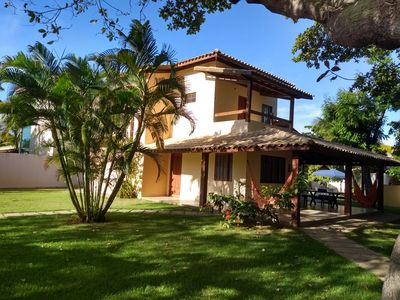 Photo for House of 250sqm, 300m from the beach, with pool and barbecue in Cond. Closed