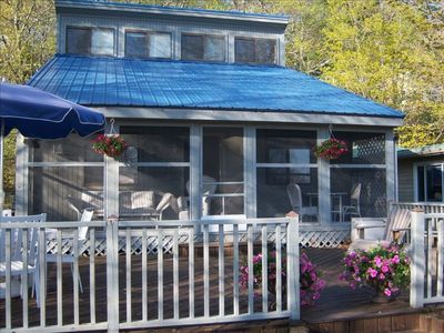 Photo for Beautiful Cottage in Historic Ottawa Beach with Private Beach!