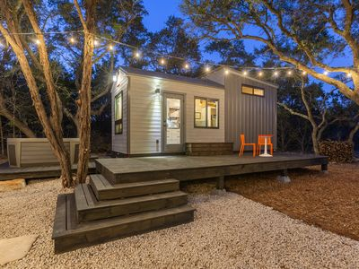 Photo for La Petite: a Tiny House with Hot Tub Nestled in 3 Private Acres