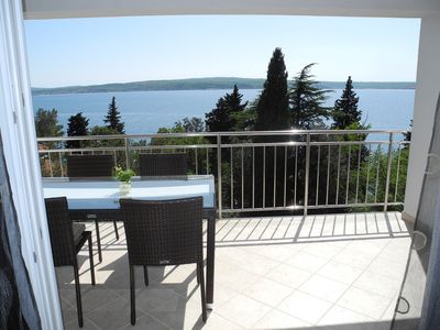 Photo for Holiday apartment only 50 meters from the beach, with sea view