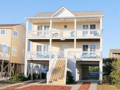 """Photo for Welcome to""""A Seacret Hideout""""and Holden Beach - this home, this beach, this vacation!"""