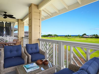 Photo for Pili Mai Resort at Poipu #07I: Central AC! Spacious & New, Only Steps to Pool!!