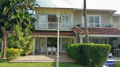 Photo for Condominium Porto Frade. House 3 suites, facing the Golf. Beach and waterfalls