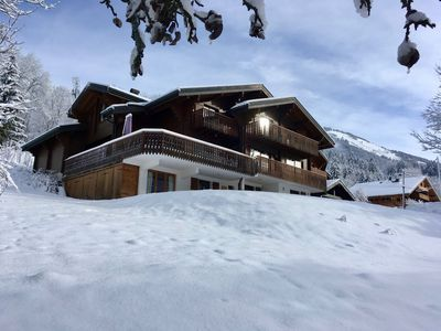 Photo for Luxury Catered Chalet with Amazing Hot-Tub