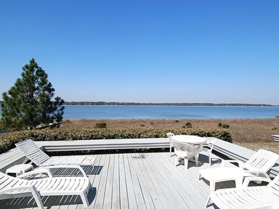Photo for 4 bedroom, 4 bath townhouse, boasts a direct water front view and water escape right near the popula