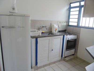 Photo for Sunny chales kitchenette 1 block from the beach with wi-fi pets allowed 12x card
