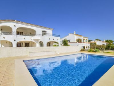 Photo for 7 bedroom Villa, sleeps 14 with Pool, FREE WiFi and Walk to Beach & Shops
