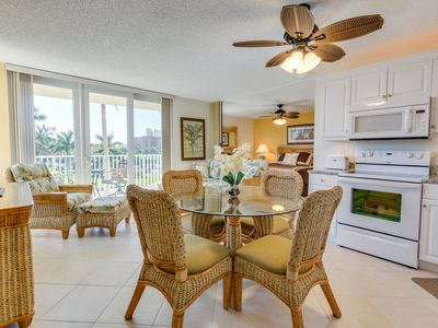 Photo for Beautifully Updated Beach Condo - Walk to Dining/Shopping - WiFi/Cable