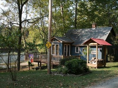 Photo for Waterfront Cabin On The New River - Near Virginia Tech & Radford University