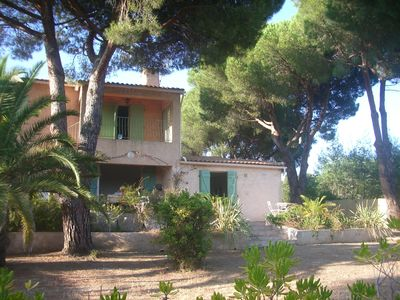 Photo for Charming villa 8 people, large garden, near beach and village based