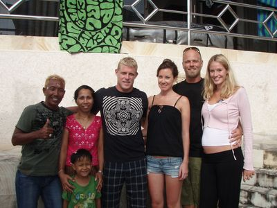 Mr. Mick Fanning and us.