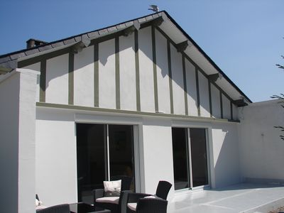 Photo for Near Deauville, House with garden, 300m from the beach, ideal family