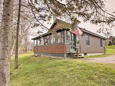 Photo for Rustic Rangeley Cabin on Lake w/Porch & Mtn Views!