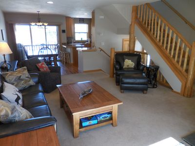 Photo for Premier Location! Luxurious, 3 Bed, 4 Bath, Private Hot Tub, Garage, Sleeps 8
