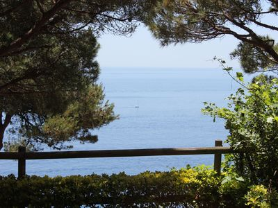 Photo for Large luxury home, stunning views, in green oasis, private garden, huge pool