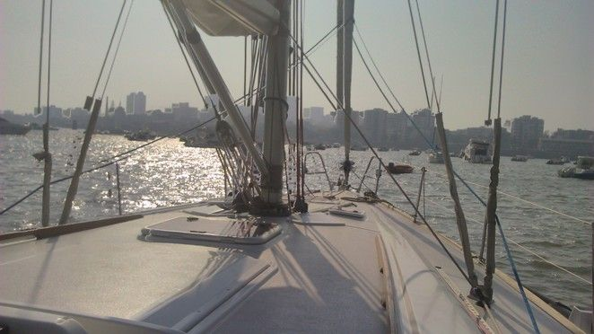 3BR Yacht at Mumbai Harbor (45 feet)