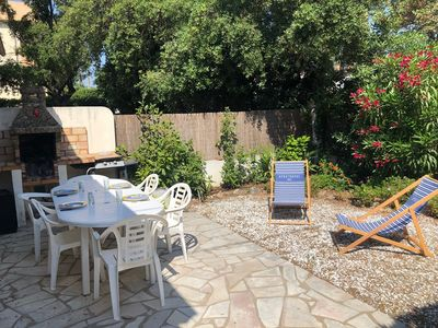 Photo for LAS MINUTE. HOUSE 300 METERS MER. HOUSE. CALM. PARK. BARBECUE.AIR CON
