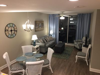 New updates! (Jan. 2018) New floor, decor, sofa, drapes, etc.
