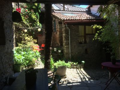 Photo for B & B in original patrician house, Ticino, Malcantone, near Lugano, lake, river