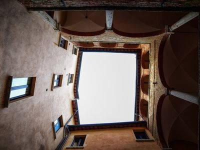 Photo for Fortino - Apartment in a Palazzo del 500 in the center of Montepulciano