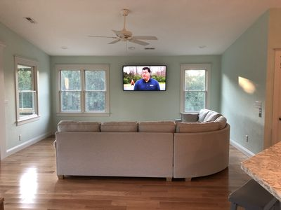 tv area on top level