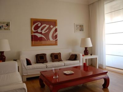 Photo for Apartment 63 m from the center of Rome with Internet, Air conditioning, Washing machine (9869)
