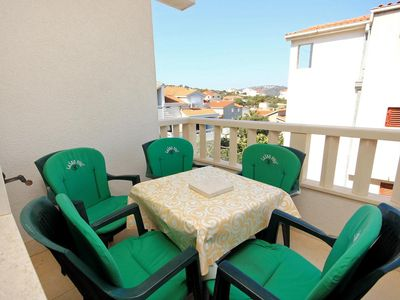 Photo for Two bedroom apartment near beach Sevid (Trogir)